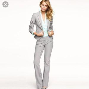 Worthington heather-ed gray suit jacket